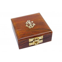 SeaClub Holzbox 7,5 x 7,5 x 3 cm