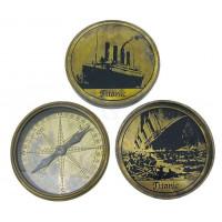 SeaClub Schwerer Kompass 8,5 cm