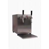 Gastro Schankanlagen Glühweindurchlauferhitzer 3kW, 2-leitig, integriertem Luftkompressor