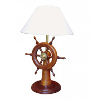 SeaClub Lampe-Steuerstand Holz