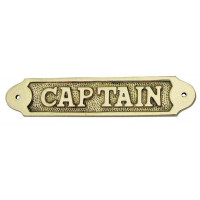 Sea Club Türschild Captain