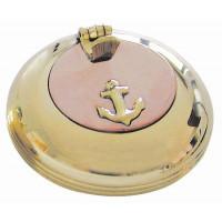 SeaClub Klappaschenbecher mit Kupferdeckel 6 cm