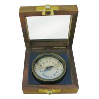SeaClub Sonnenuhr-Kompass antik