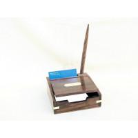 SeaClub Zettel-Stift-Box Holz