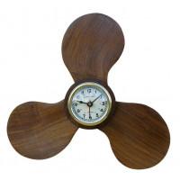 Sea Club Uhr in der Schiffsschraube Holz