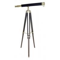 Sea Club Stand-Teleskop mit Lederummantelung Länge 69 cm