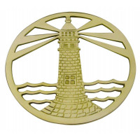 SeaClub Topf-Untersetzer Leuchturm
