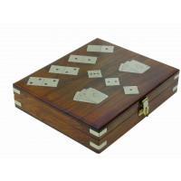 SeaClub Domino/Wüfel Karten-Box