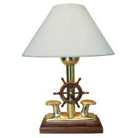 SeaClub Lampe-Poller mit Steuerrad