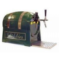 Gastro Schankanlagen Glühbier- u. Glühweinfass - Durchlauferhitzer 3 kW, 2-leitig