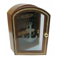 Sea Club Schlüsselkasten mit Ankermotiv
