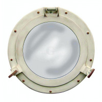 SeaClub Bullaugenspiegel Aluminium 28,5 cm