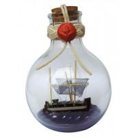 SeaClub Flaschenschiff - Kutter rund