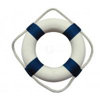 SeaClub Rettungsring blau/weiß 20 cm