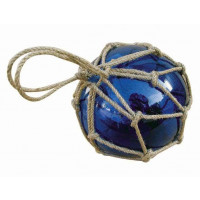 SeaClub Fischer-Kugel blau 15 cm