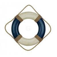 SeaClub Rettungsring blau/creme 36 cm