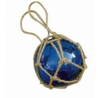 SeaClub Fischer-Kugel blau 7,5 cm