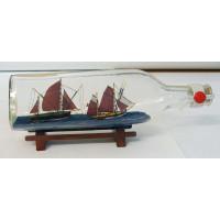 SeaClub Flaschenschiff mit 2 Thunfischfängern
