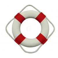 SeaClub Rettungsring rot/weiß 20 cm