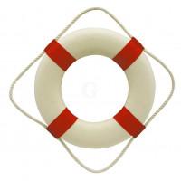 SeaClub Rettungsring rot/weiß 30 cm
