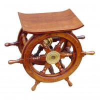 SeaClub Steuerrad-Tisch/Hocker