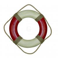 SeaClub Rettungsring rot/creme 36 cm