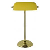 SeaClub Bankers-Lampe Höhe 46 cm gelb
