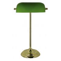 SeaClub Bankers-Lampe Höhe 46 cm grün