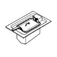 EKU Snackline Einbau Elektro Friteuse D-FRE-40-75