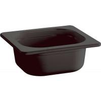 APS GastroNorm-Behälter GN 1/6 Eco Line 0,8 l schwarz