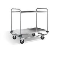 Blanco Servierwagen - stahlverzinkte Rolle