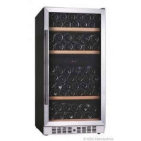 KBS Weinkühlschrank Vino 280 zwei Temperaturzonen, Soft Touch Steuerung