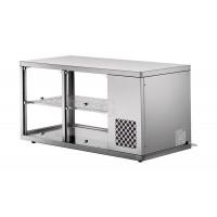 BLANCO Aufsatzkühlvitrine für Neutralbuffet AKV-S 147-KL