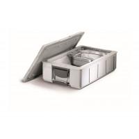 Blanco Blancotherm Speisentransportbehälter BLT 160 K Unbeheizt Grau