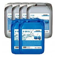 Winterhalter Sparpaket Reiniger F 30 4 x 12 kg und Klarspüler B 100 N 2 x 10 L