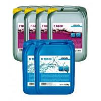 Winterhalter Sparpaket Reiniger F 8400 4 x 12 kg und Klarspüler B 100 N 2 x 10 L