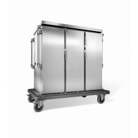 Blanco Tablett Transportwagen doppelwandig isoliert TTW 24-115 DDG