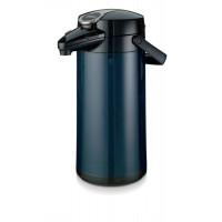 Bravilor Bonamat Isolierkanne Airpot Furento Kunststoffmantel Farbe blau