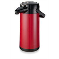 Bravilor Bonamat Isolierkanne Airpot Furento Kunststoffmantel Farbe rot