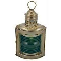 SeaClub Steuerbordlampe antik elektrisch
