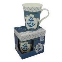 SeaClub Tasse/Kaffeebecher Anker in Geschenkbox