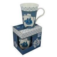SeaClub Tasse/Kaffeebecher Schiff in Geschenkbox