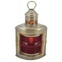 SeaClub Backbordlampe antik elektrisch