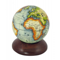 SeaClub Globus auf Holzsockel