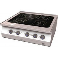 MKN Counter-SL Elektro-Kocher Induktion 4 Platten
