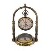 SeaClub Taschenuhr und Kompass