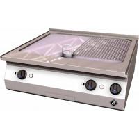 MKN Counter-SL Elektro-Griddleplatte 2 Supra halb geriffelt