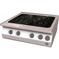 MKN Counter-SL Elektro-Kocher VITRO 4 x 210