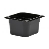 CAMBRO GastroNorm-Behälter GN 1/6 1,5 Liter Schwarz