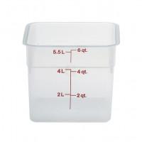 Cambro CamSquares® - Transparent Vorratsbehälter 5,7 Liter